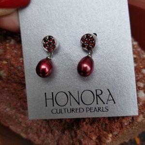 New Honora pearl earrings